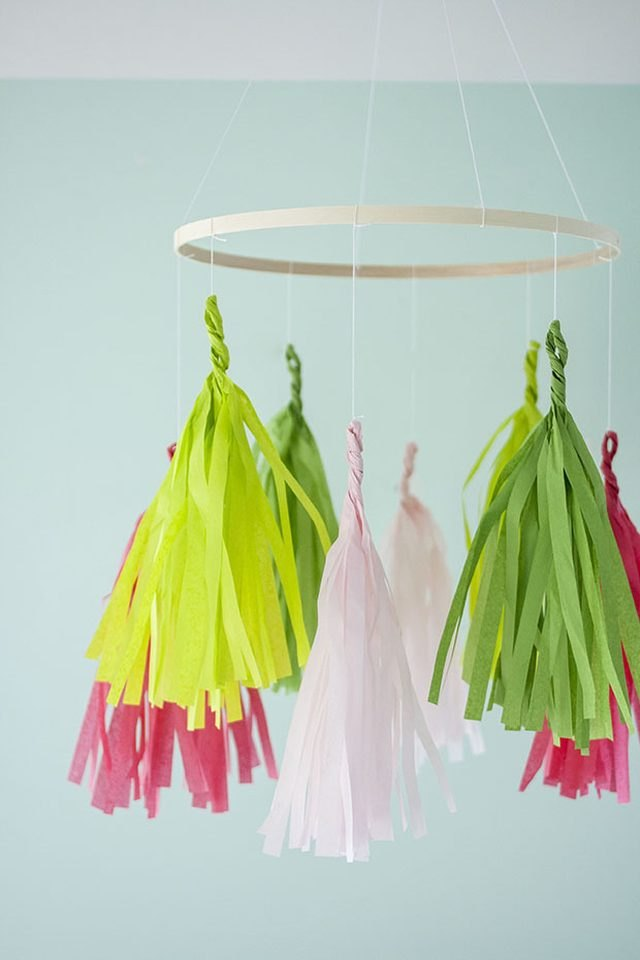 DIY Tassel Mobile