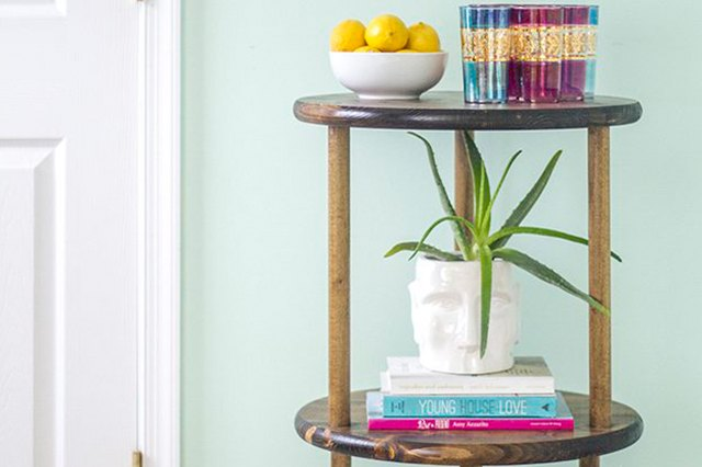 Build a Space-Saving Bar Cart