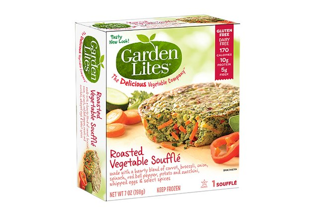 Garden Lites Roasted Vegetable Souffle