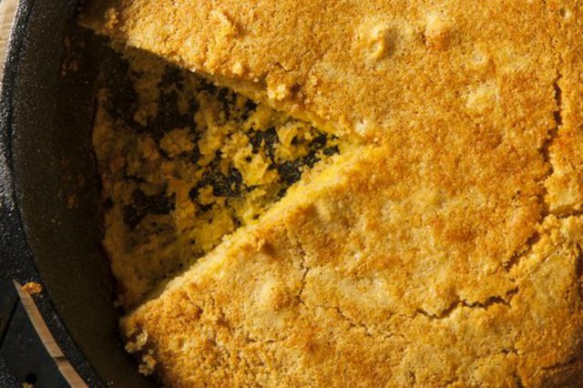 Homemade Southern Style Cornbread