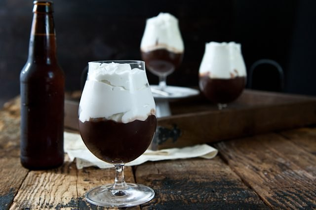This chocolate stout pudding is a great dessert for big groups.