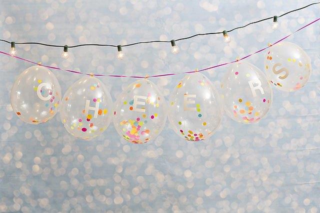 DIY Confetti-Filled Balloons