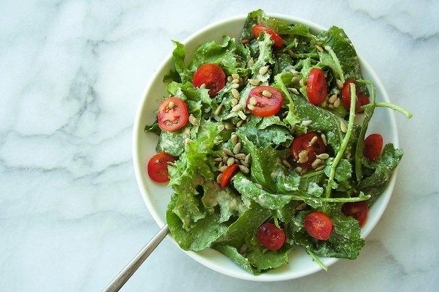 caesar kale salad
