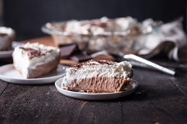 Gluten Free French Silk Pie