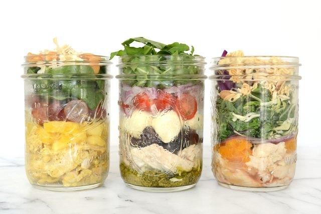 Three variations of make-ahead rotisserie chicken salads