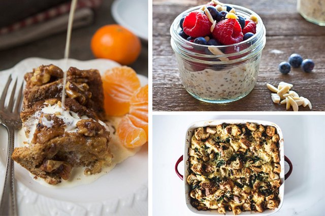 Overnight Recipes to Make Breakfast Easy