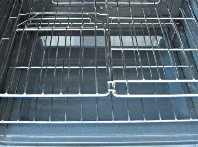 A clean oven rack.