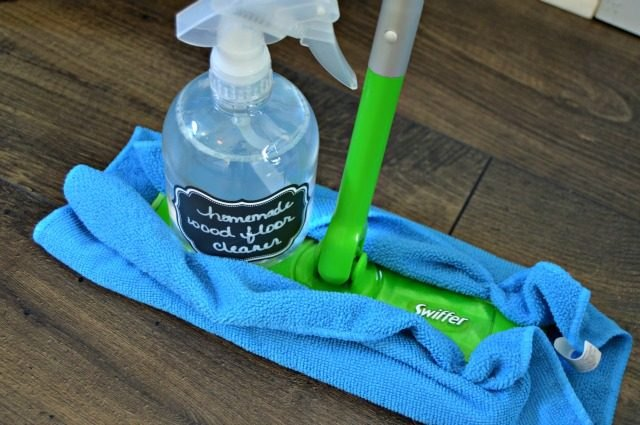 Spray Bottle and Swifter Sweeper