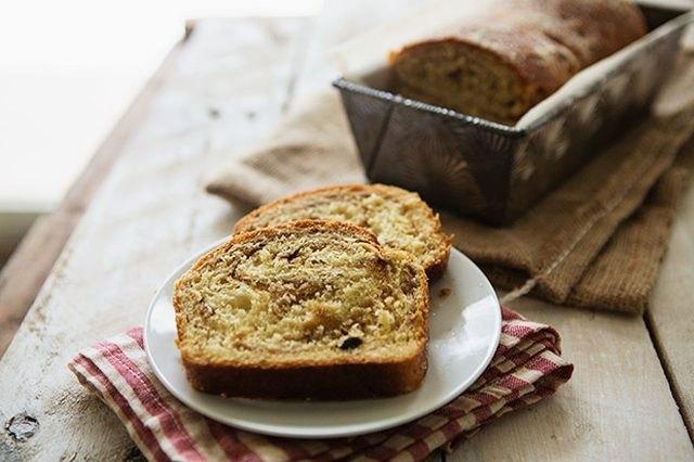 This cinnamon swirl bread makes a wonderful hostess gift.
