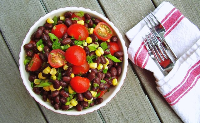 cowgirl black bean salad