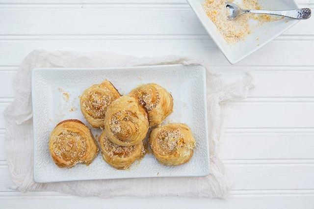 Meyer lemon morning buns