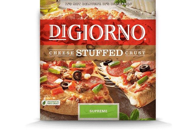 DiGiorno Cheese Stuffed Supreme Pizza