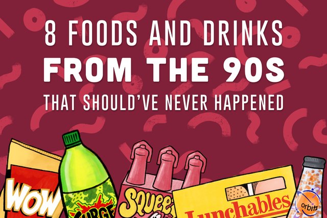 foods from '90s