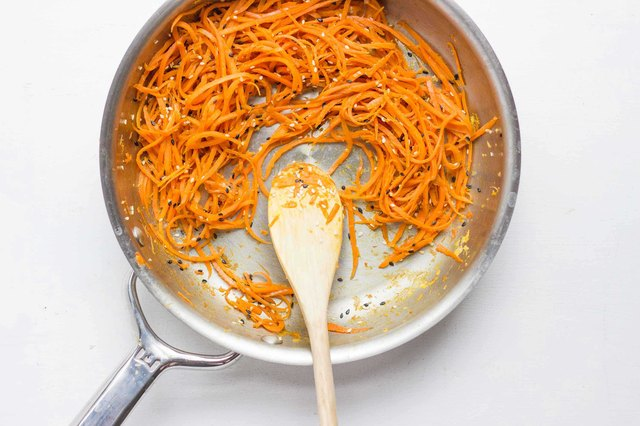 Carrot Noodles With Sesame and Soy