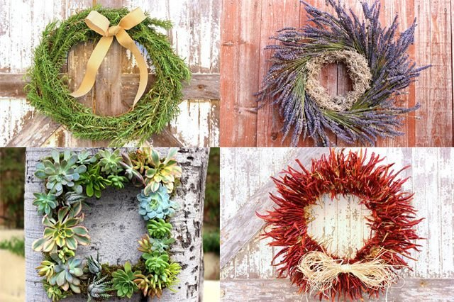 5 Christmas wreaths that are easy to make