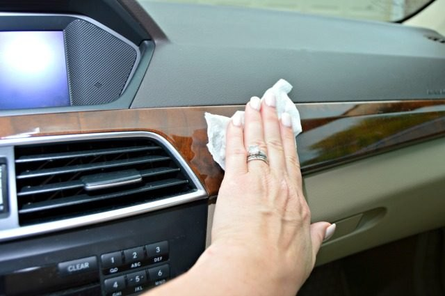 DIY Car Wipes