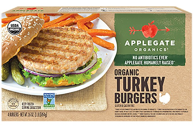 Applegate Organics Turkey Burgers