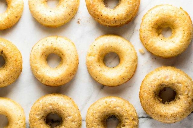 Apple cider donuts.
