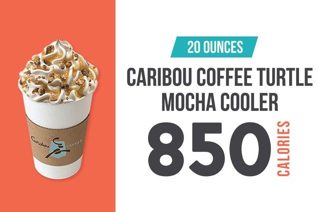 Caribou Coffee Turtle Mocha Cooler