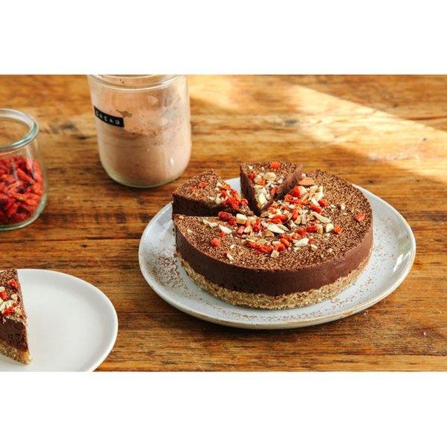 No-Bake Chocolate and Almond Tart