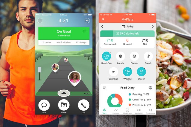 gixo and MyPlate app