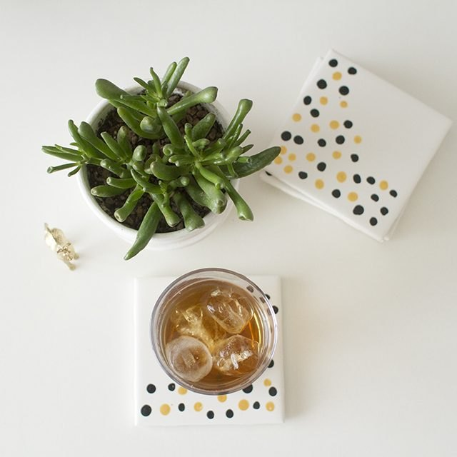 How to Make Ceramic Tile Coasters