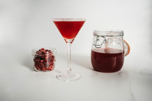 raspberry-infused vodka recipe