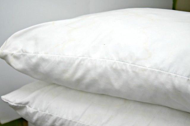 Sparkling white pillow cases
