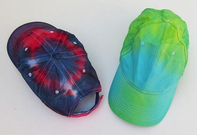 Tie-Dye a Baseball Cap