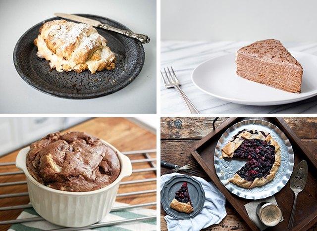 4 French Desserts