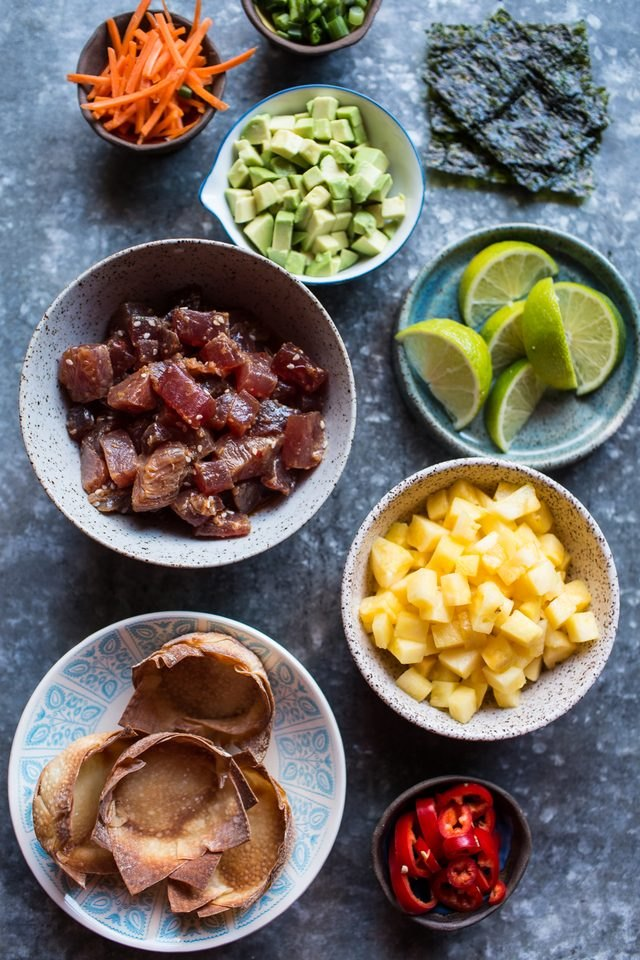 How to Make Hawaiian Ahi Poke Appetizers