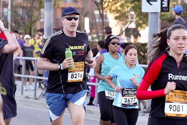 Will Ferrell running