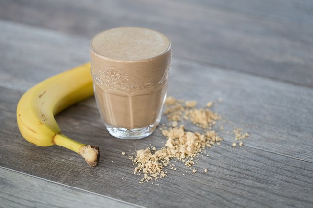 Peanut Butter and Chocolate Protein Shake