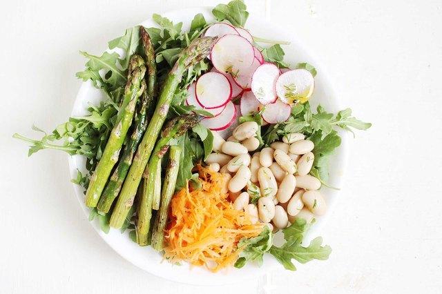 Spring Vegetable Bowls With Lemony Dill Vinaigrette