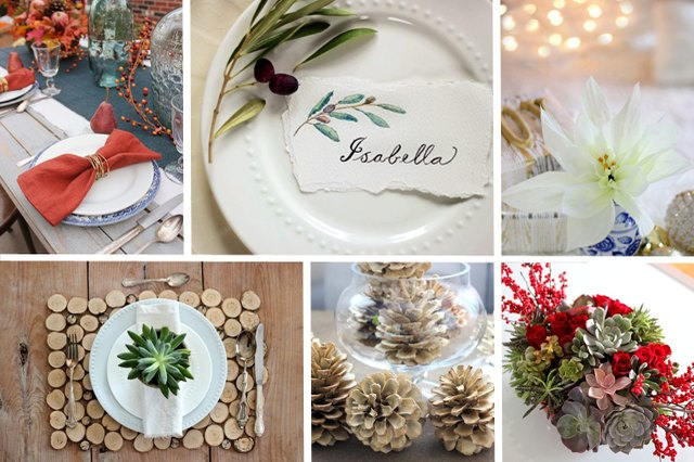 These table setting DIYs are guaranteed to awaken the holiday spirit in your home.