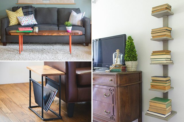 small space furniture DIY solutions