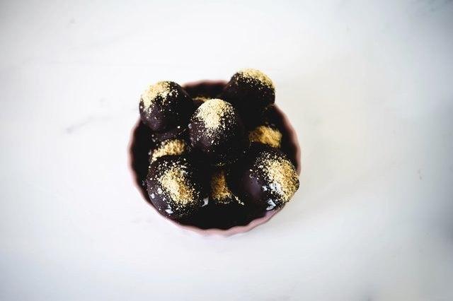 S'mores Cake Ball Truffles