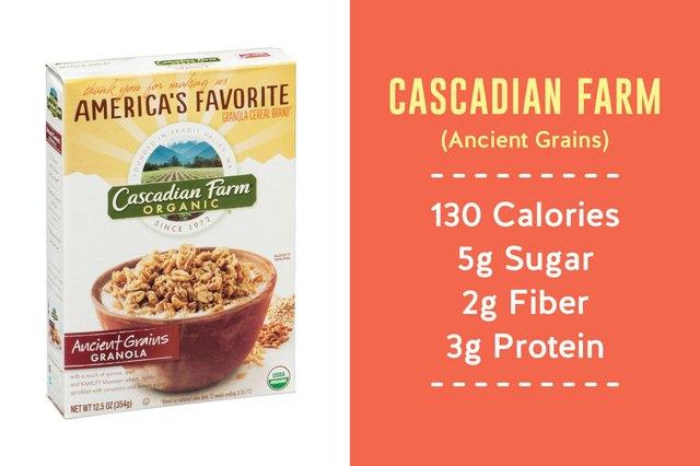 Cascadian Farm Ancient Grains granola