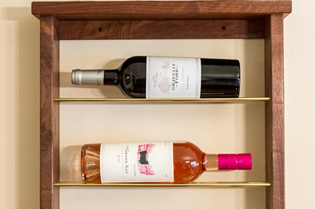 Learn How to Build a Wine Rack