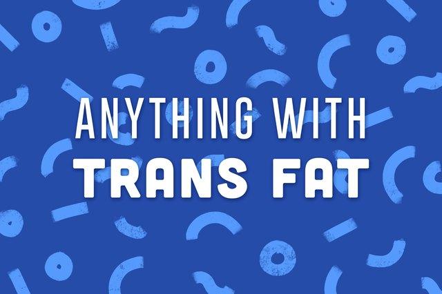 trans fat illustration