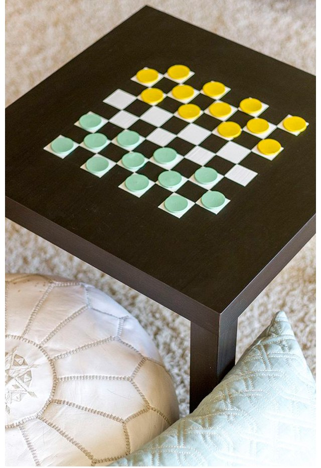 Checkerboard IKEA table