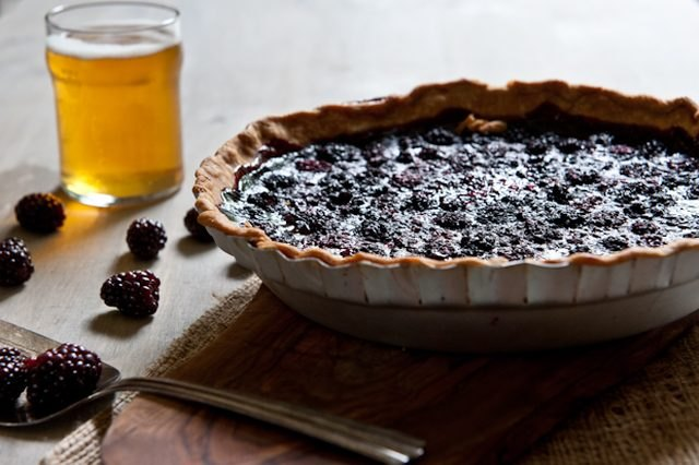 Blackberry Summer Ale Pie
