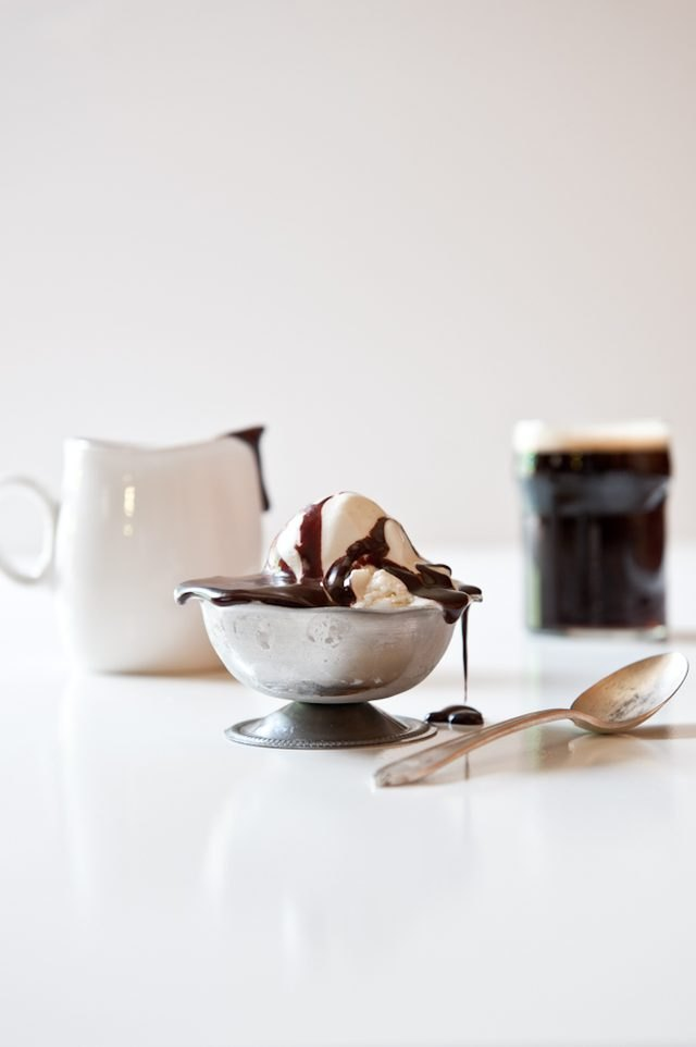 Chocolate Stout Fudge Sauce + 10 Beer Ice Cream Recipes