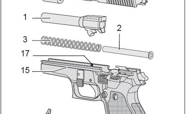 Basic disassembly of the Sig P220