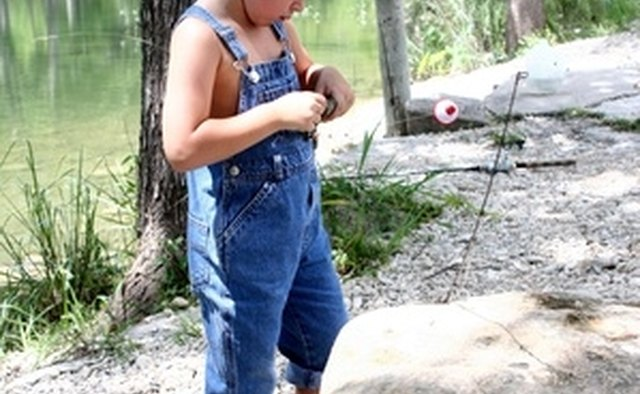 Fishing is a popular pastime for the family.