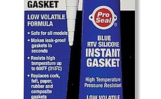 Use Blue RTV sealer on ends of rear main seal.