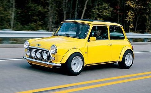 The original Mini Cooper inspired the new generation of MINIs.