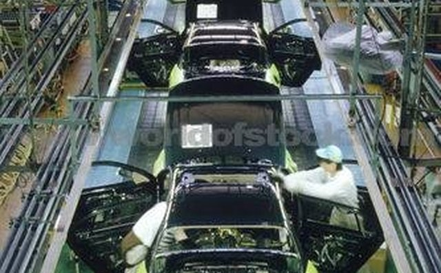 Nissan assembly plant in Japan.