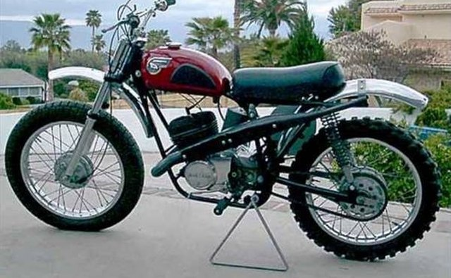The Kawasaki 250cc F21M model.