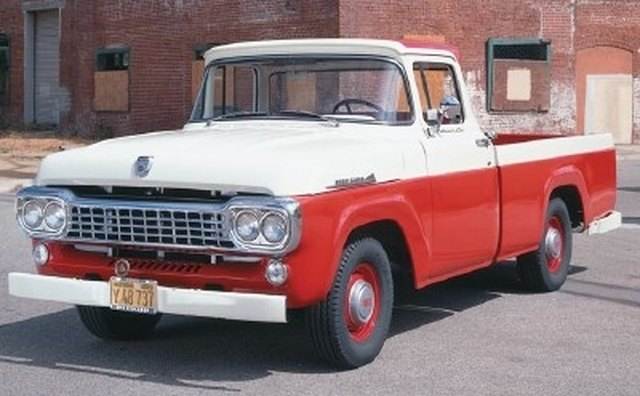 Ford called its Fleetside pickups the